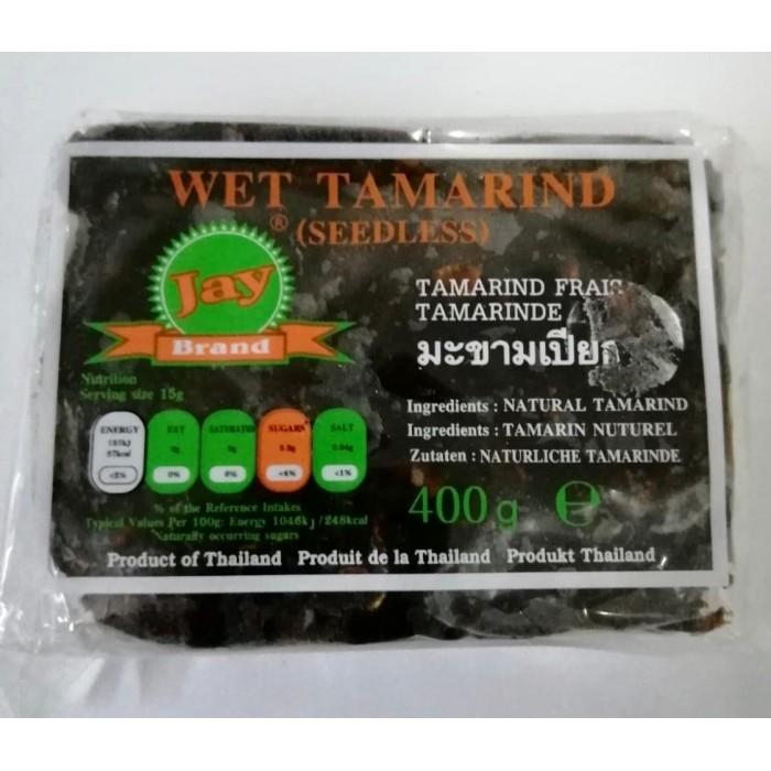 Jay Brand Wet Tamarind Seedless 400g