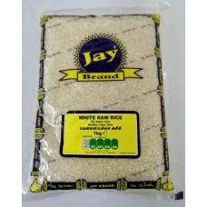 Jay Brand White Raw Rice 1Kg