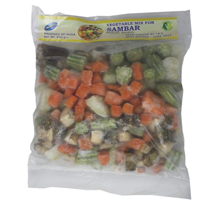 Mathangi Frozen Vegetable Mix For Sambar 500g