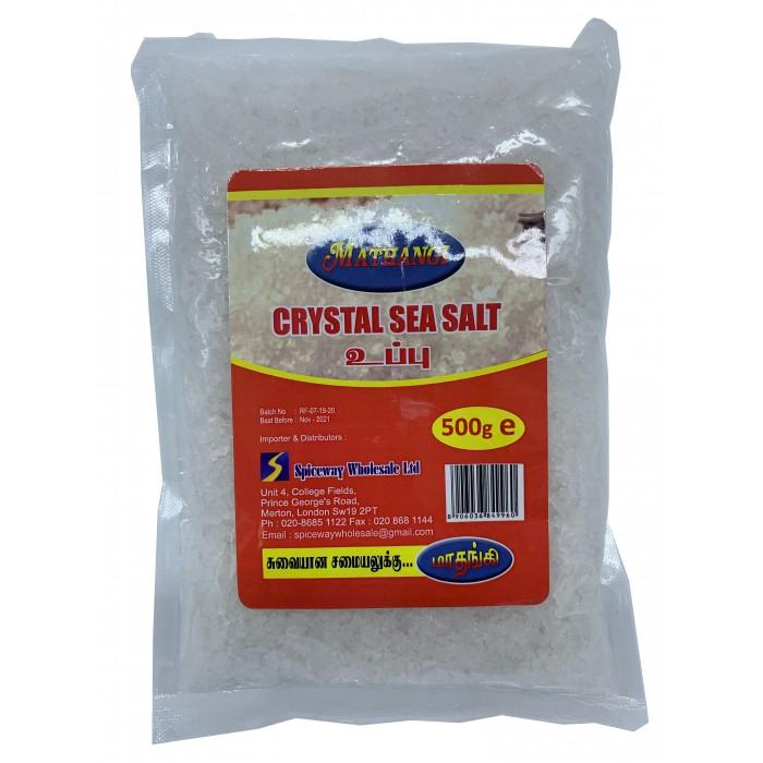 Mathangi Crystal Sea Salt 500g