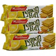Maliban Lemon Puff 200g Offer 3 For £1.20