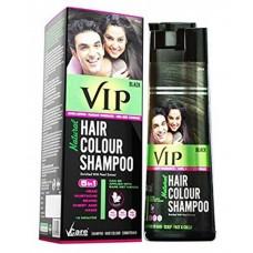 VIP 5 in 1 Hair Colour Shampoo base Hair Colour 180 ml Black Hair Colour