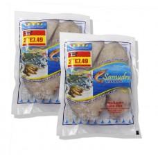 Samudra King Fish Steak 500g  2 for £7.49  (Frozen)
