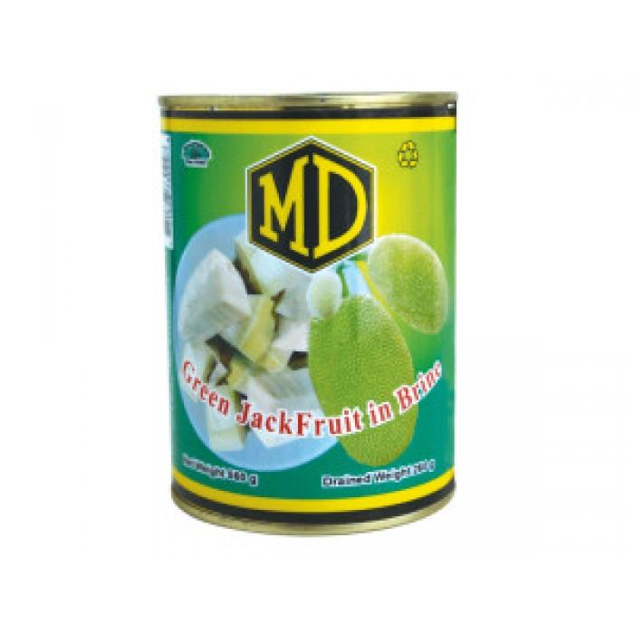 MD Green Jak Fruit In Brine  520g