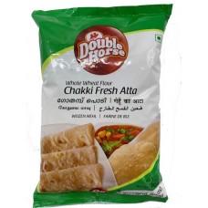 Double Horse Chakki Fresh Atta 2Kg