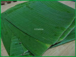 Banana Leaves 1 bunch
