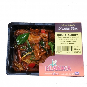Elakkia Squid Curry 200g