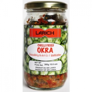 Larich Chilli Fried Okra 300g