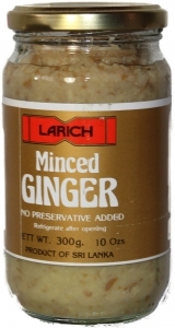 Larich Minced Ginger 300g