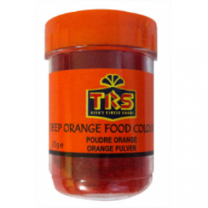 TRS Food Colour Deep Orange 25g