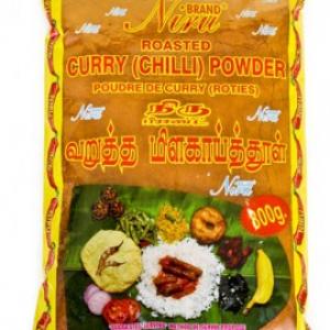 Niru Roasted Curry Powder Hot 800g