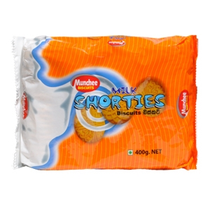 Munchee Milk Shorties 350g  Offer  2 For  £1.00