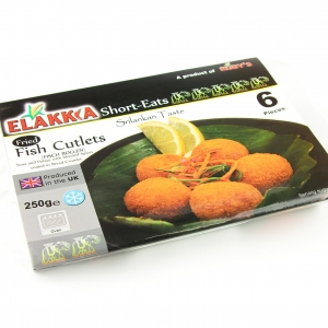 Elakkia - Cutlet Fish 6 Pcs