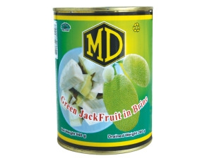MD Green Jak Fruit In Brine  520g