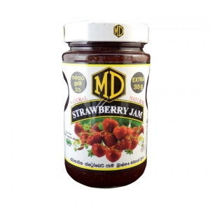 MD Real Strawberry Jam 485g