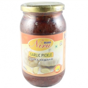 Niru Garlic Pickle 400g
